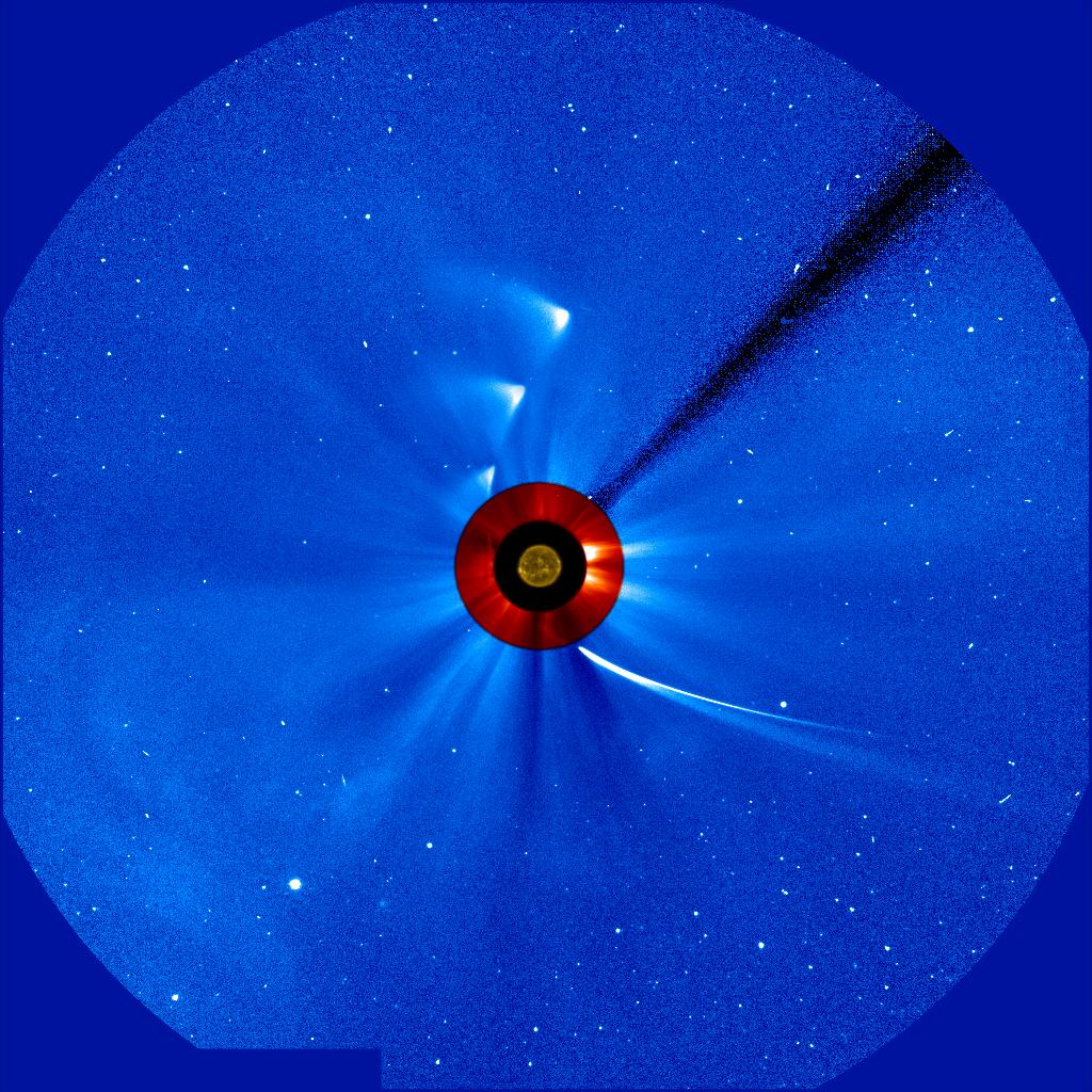 Kometa C/2012 S1 (ISON), 29 listopada 2013 (3)