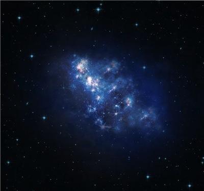 Artystyczna wizja galaktyki z8_GND_5296