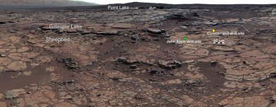 Zatoka Yellowknife na Marsie