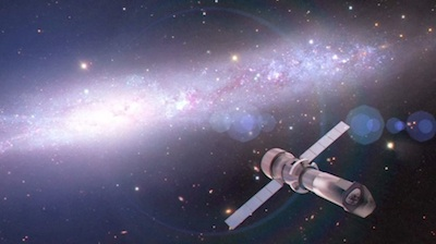 Artystyczna wizja teleskopu rentgenowskiego Athena+