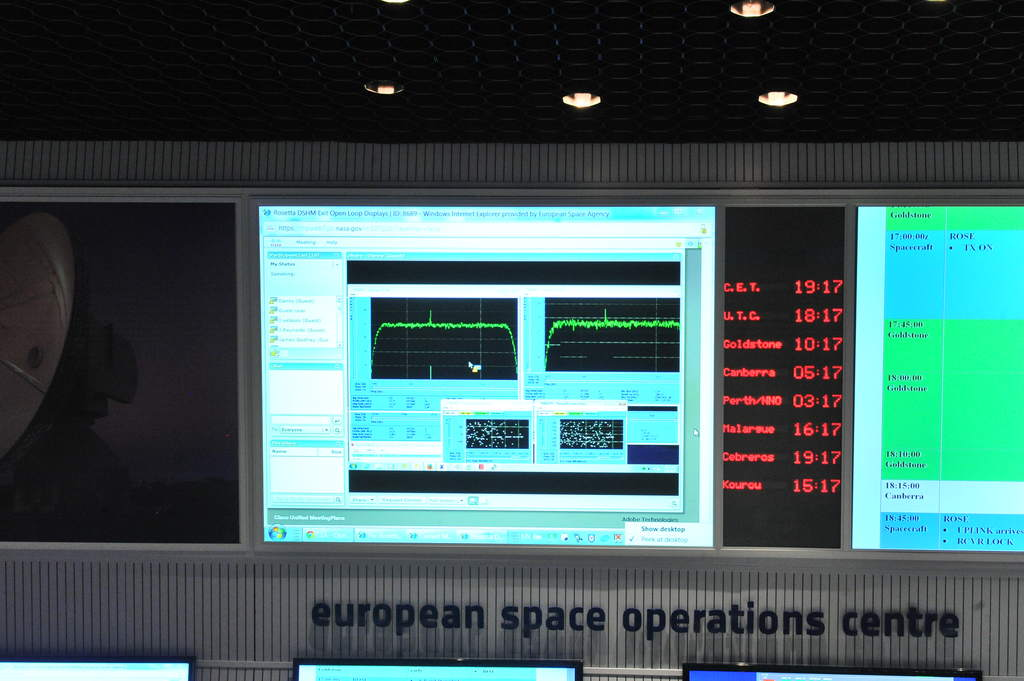 Sygnał od Rosetty