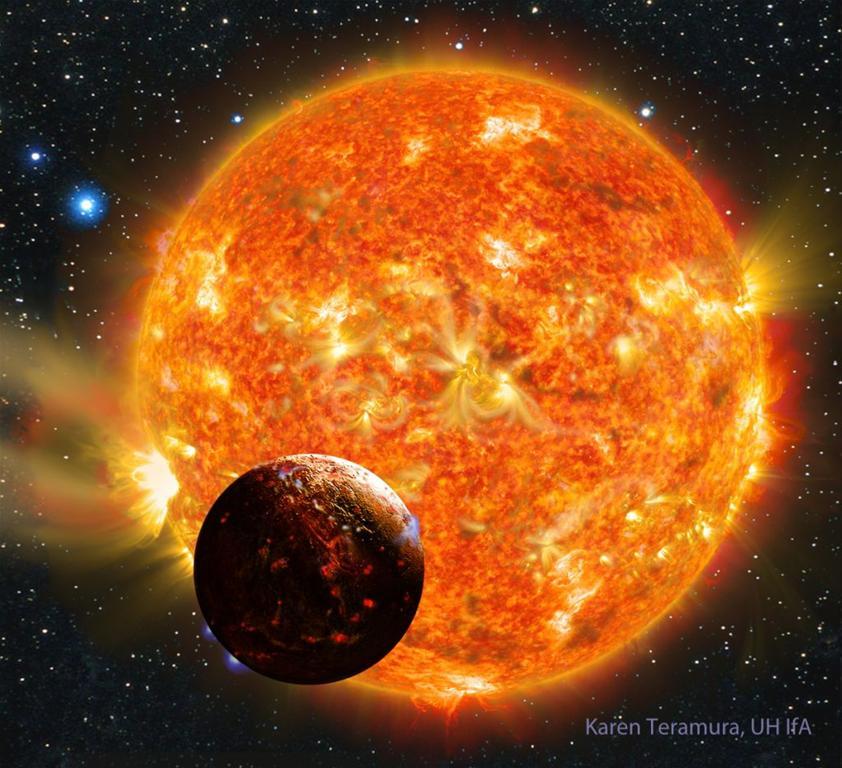 Kepler-78b - wizja artystyczna