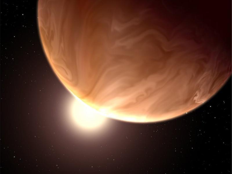 Egzoplaneta GJ 1214b - wizja artystyczna