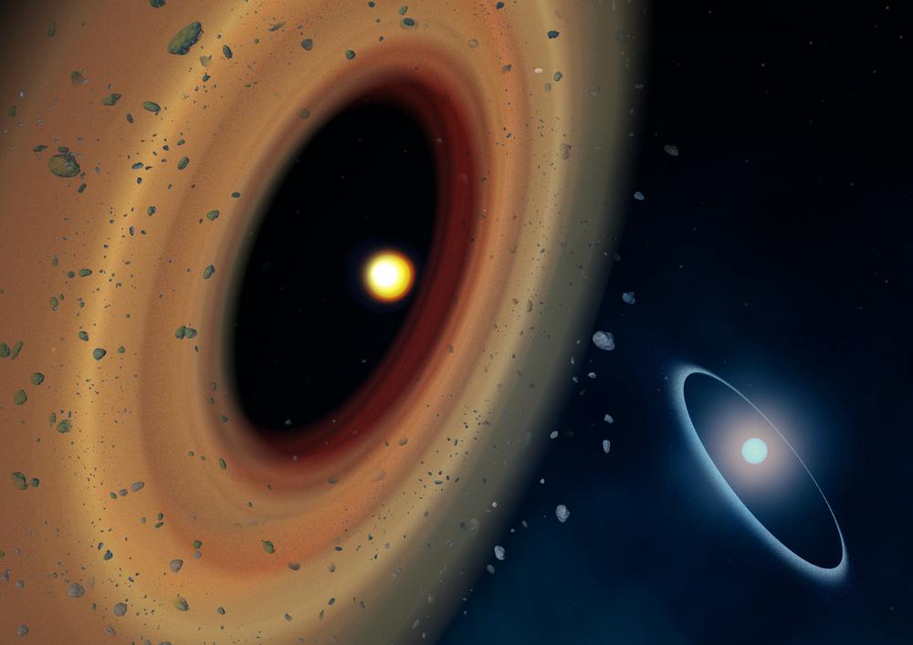 Artystyczna wizja systemu Fomalhaut