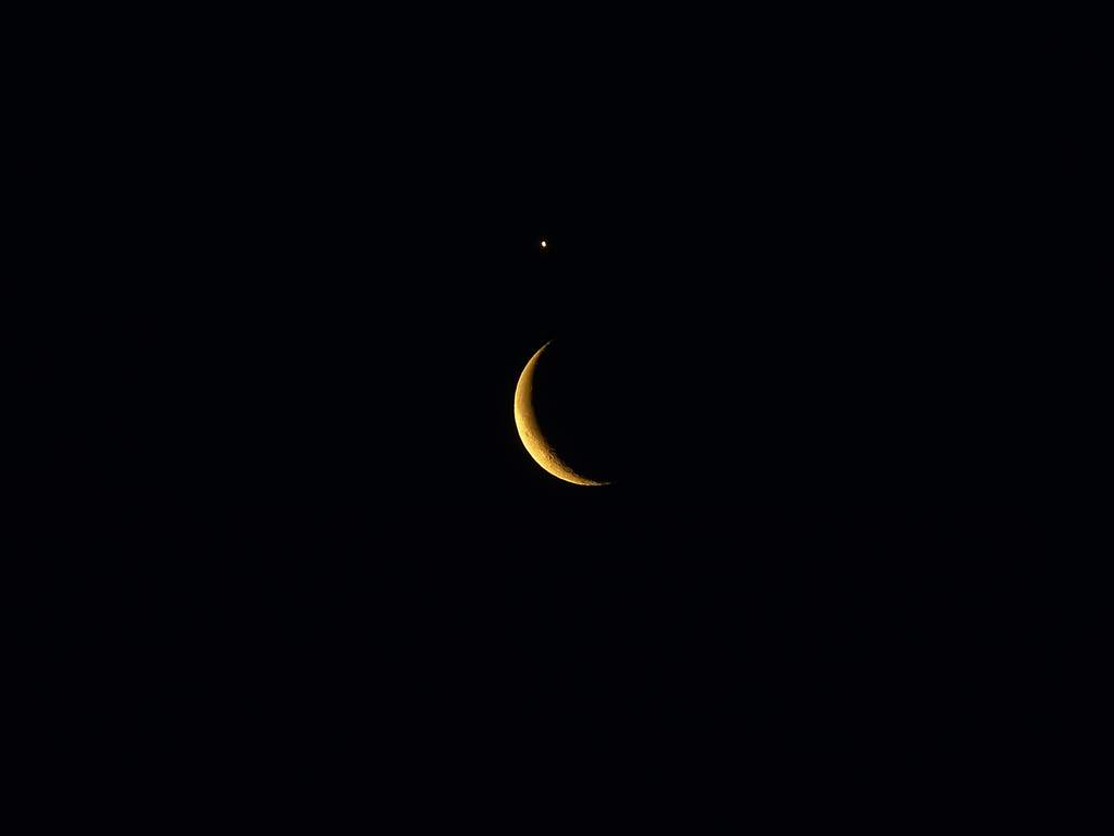26 lutego 2014, złączenie Księżyca zWenus (I)