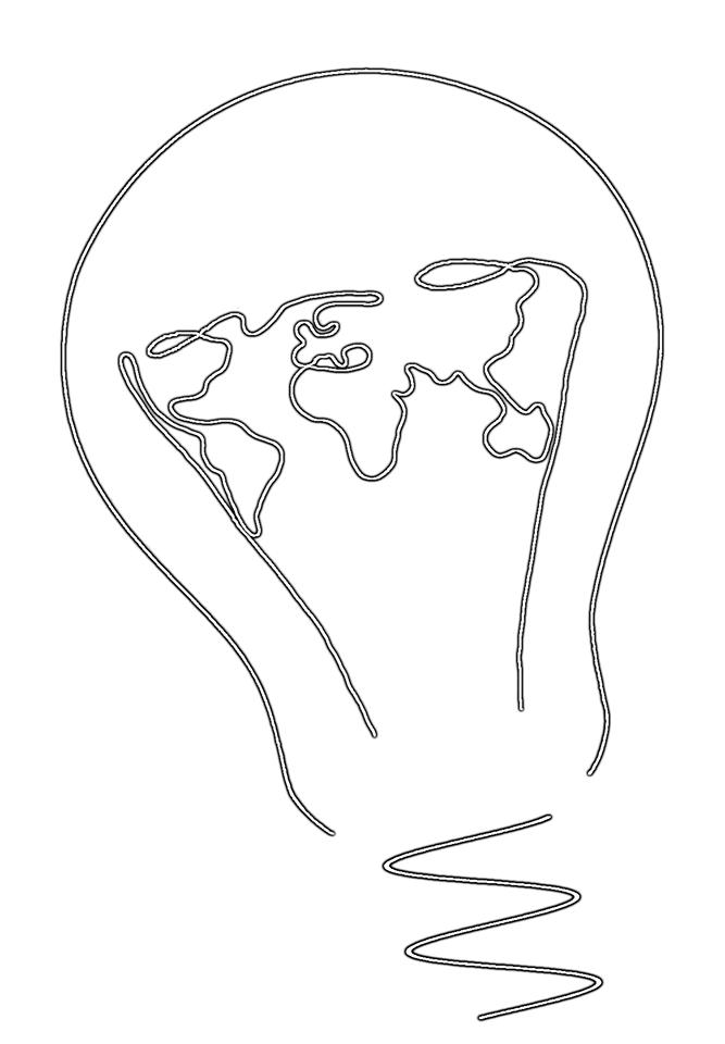 Logo II Ogólnopolskiej Konferencji na temat Zanieczyszczenia Świetlnego