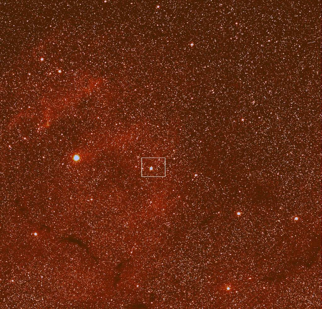 Zdjęcie wykonane 20 marca 2014 r. przezkamerę szerokokątną instrumentu OSIRIS sondy Rosetta