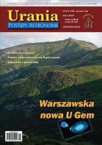 Urania - Postępy Astronomii nr 1/2014