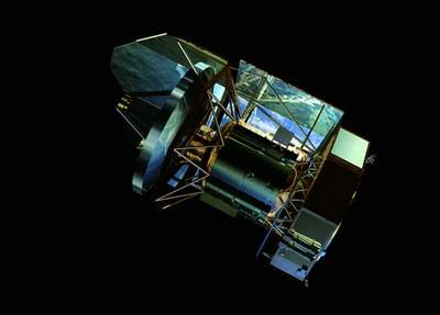 Teleskop Kosmiczny Herschela - wizja artystyczna