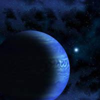 Wizja artystyczna brązowego karła WISEJ085510.83-071442.5