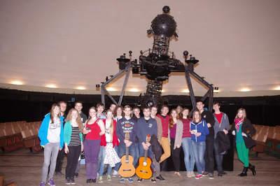 Spotkanie kończące seminarium w planetarium