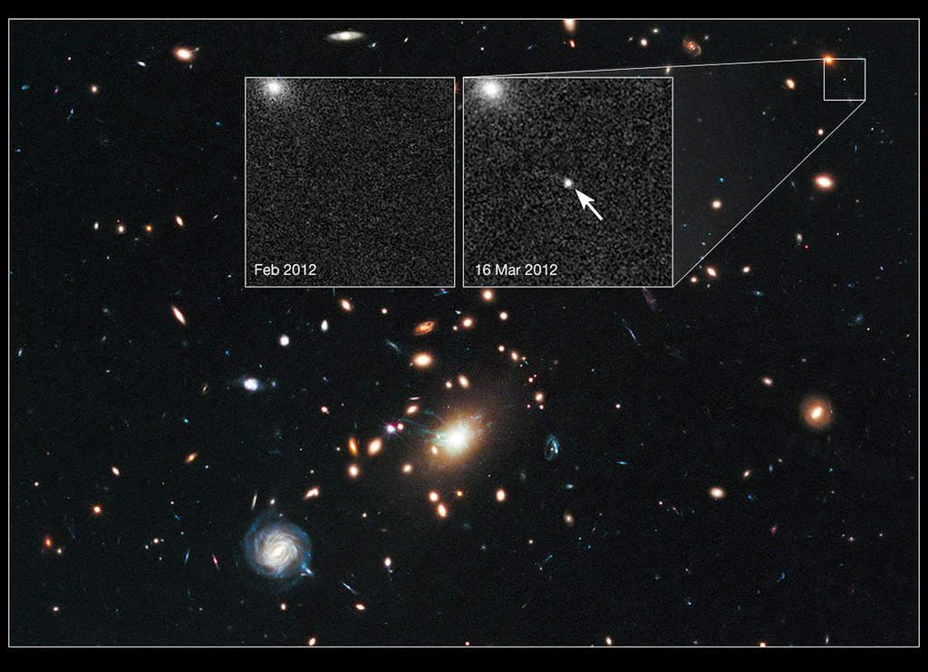 Gromada galaktyk RXJ1532.9+3021 i supernowa Didius