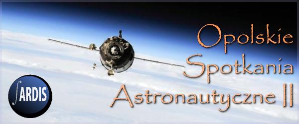 Baner II Opolskich Spotkań Astronautycznych