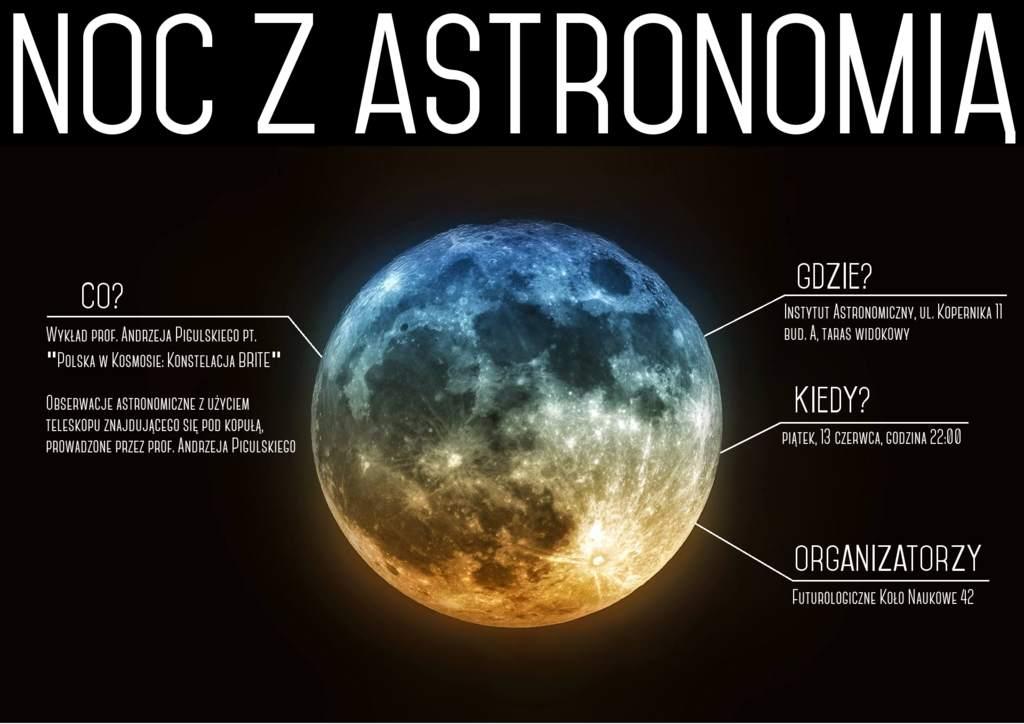 Pierwsza wrocławska NOC Z ASTRONOMIĄ