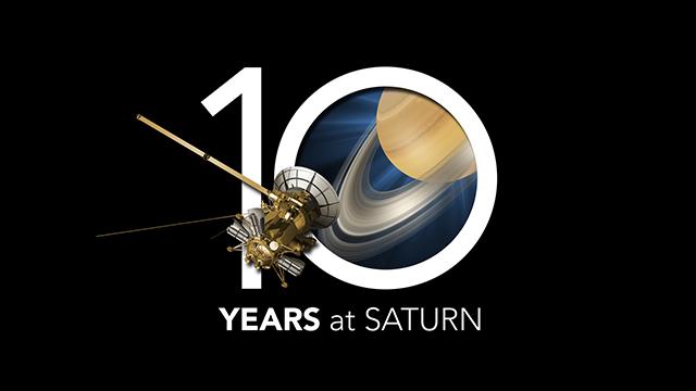 30 czerwca 2014 roku sonda Cassini świętuje 10 lat swojej misji.