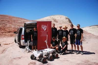 Drużyna Politechniki Wrocławskiej naUniversity Rover Challenge 2013