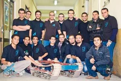 Drużyna Space Systems Technology Laboratory zEgiptu