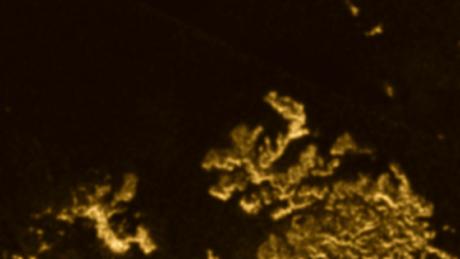 """Morze Ligeia na Tytanie bez """"Magicznej Wyspy"""""""
