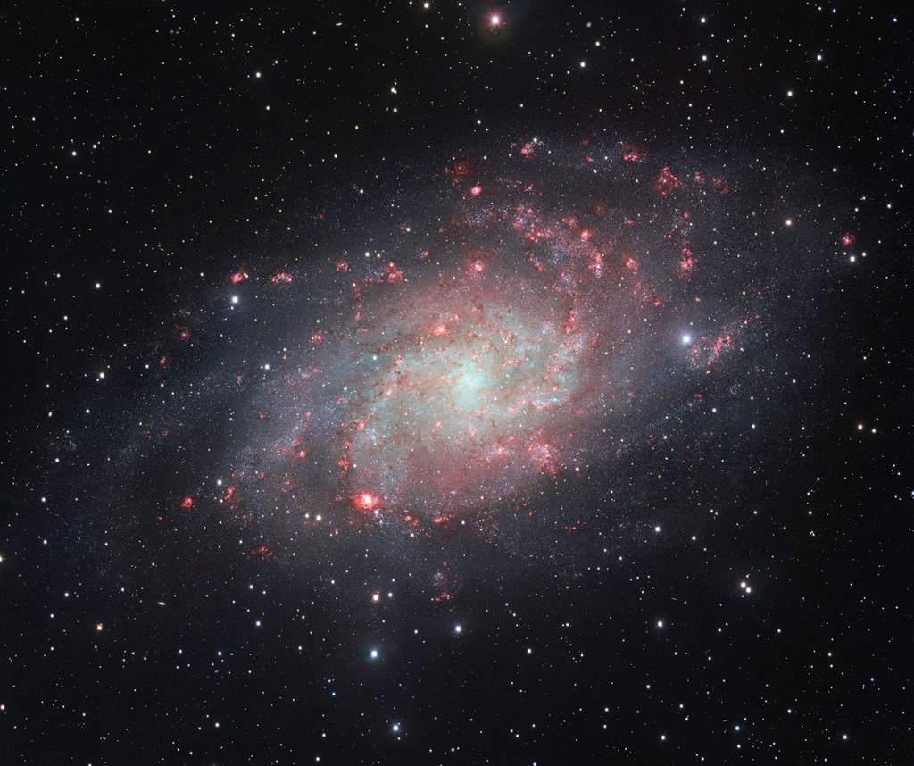 Galaktyka M33 – zdjęcie z VST