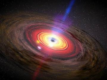 Wizja artystyczna czarnej dziury