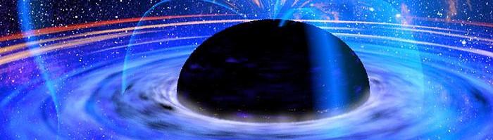 Wizja artystyczna czarnej dziury.