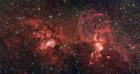 Dwa obszary powstawania gwiazd – NGC 3603 i NGC 3576