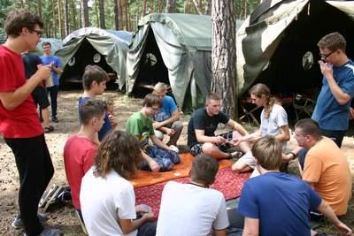 Obóz dla starszych 2014: rozrywki poobiednie