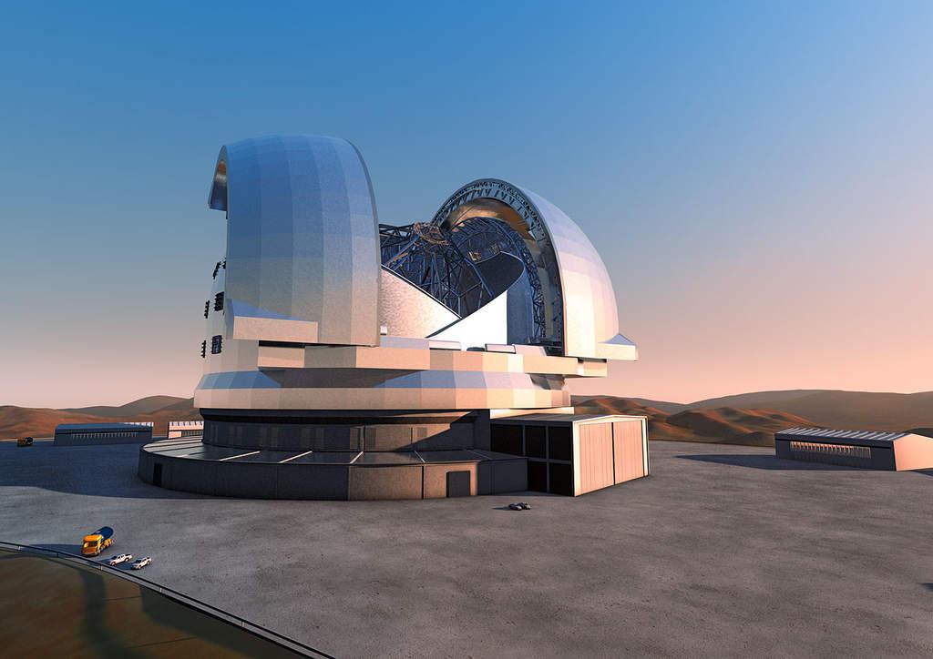 Europejski Ogromnie Wielki Teleskop (E-ELT)
