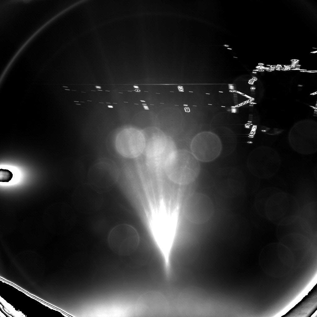 Pierwsze zdjęcie po odłączeniu od Rosetty