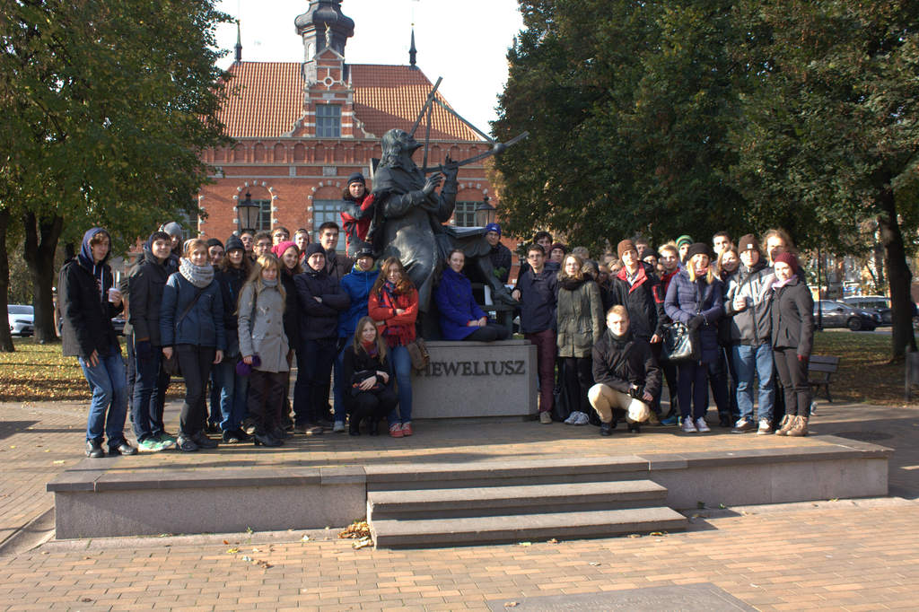 Seminarium Gdańsk 2014 - pomnik Jana Heweliusza