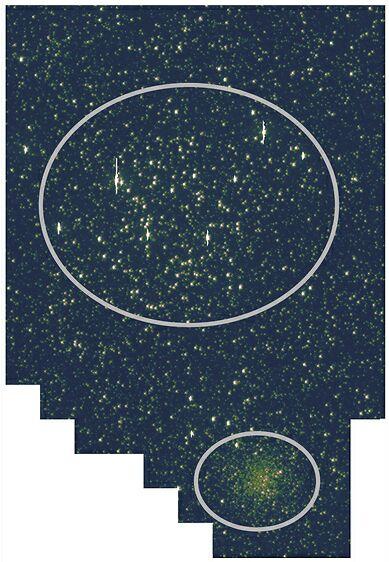 Tak Kepler widzi gromady otwarte M 35 i NGC 2158, popularny zimowy cel obserwacji amatorskich.