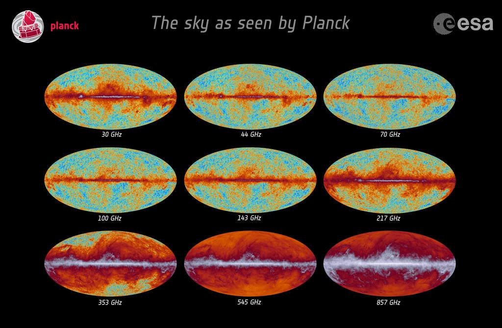 Niebo widziane przez Plancka