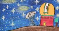 Rysunek z konkursu astronomicznego