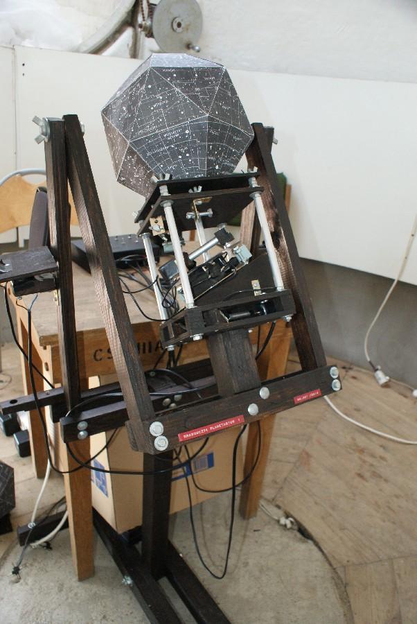 Projektor planetarium w Załęczu Wielkim