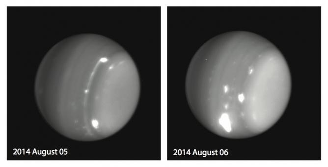 Burze na Uranie