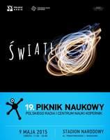 Plakat 19. Pikniku Naukowego Polskiego Radia i Centrum Nauki Kopernik