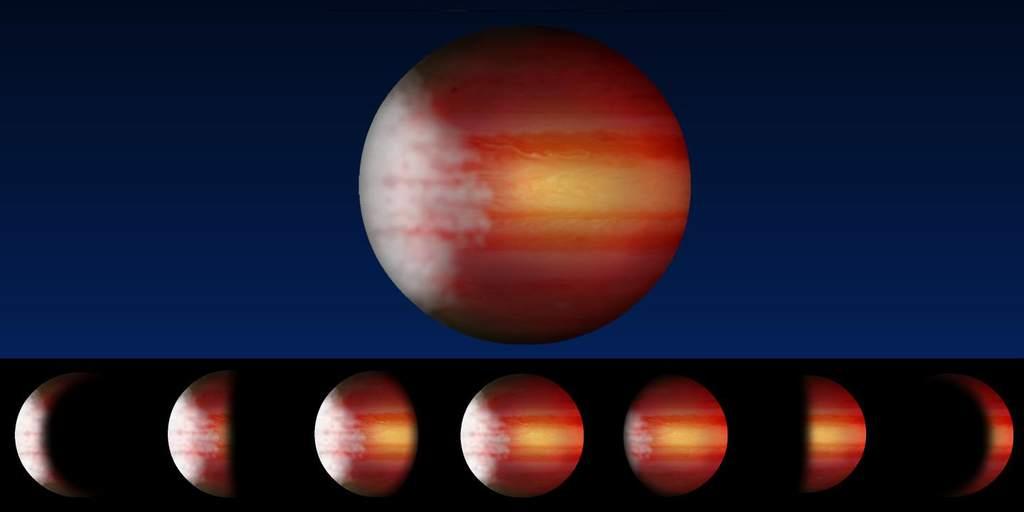 Cykl pogodowy na egzoplanecie