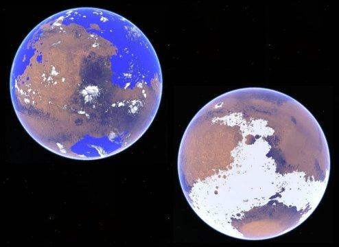 Kilmat wczesnego Marsa