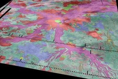 Gorące plamy lawy na Wenus