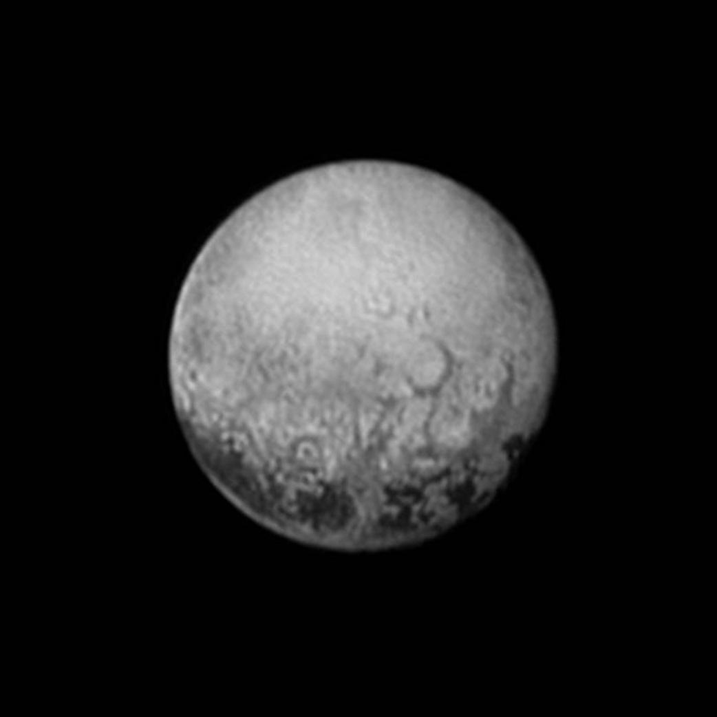 Pluton -- New Horizons 3