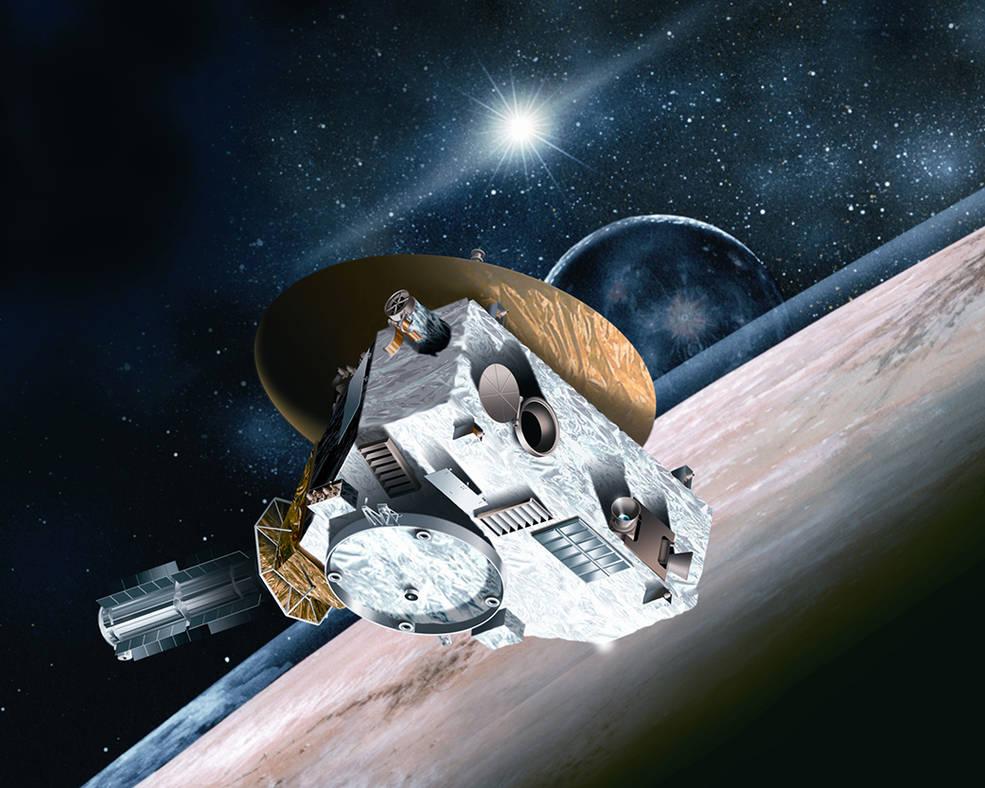 """Wizja artystyczna sondy """"New Horizons"""""""