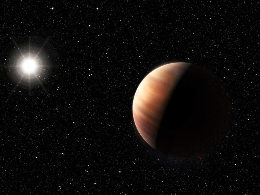 Wizja artystyczna bliźniaka Jowisza