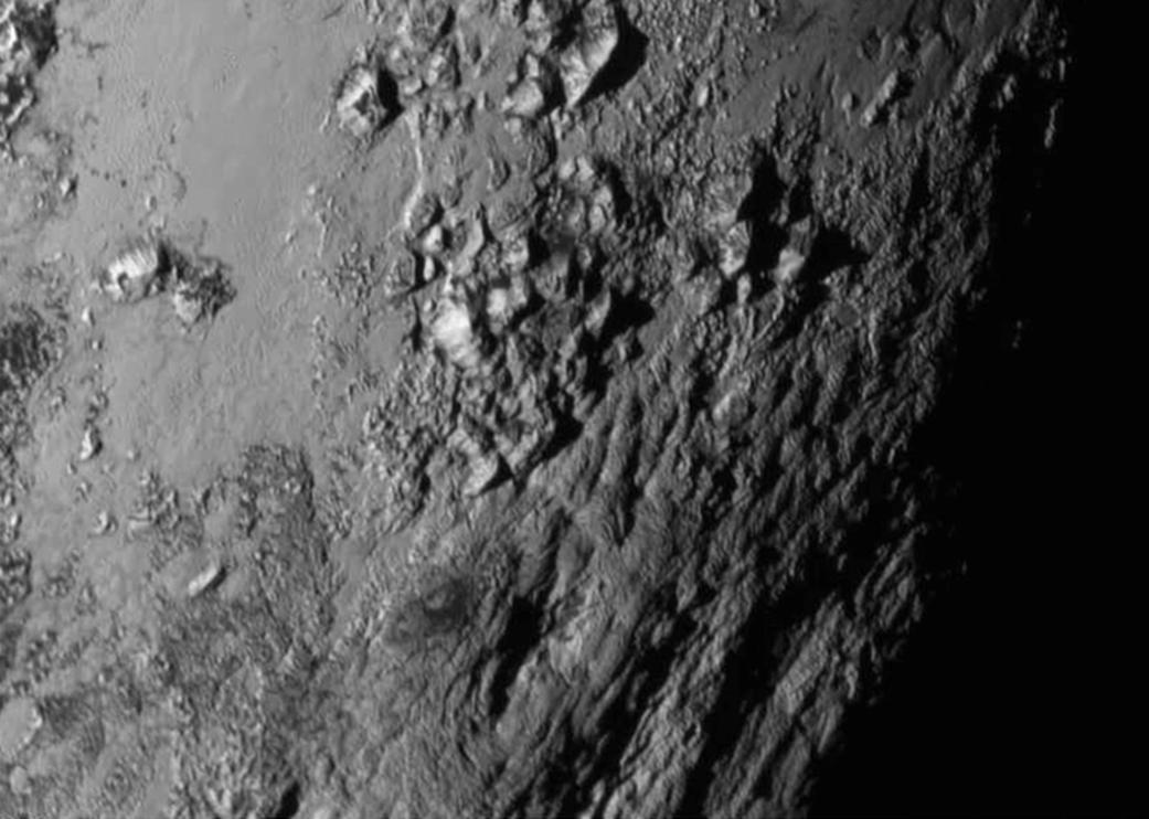 Pluton, fragment mozaiki
