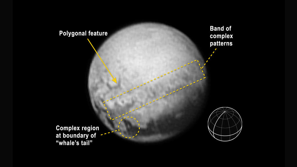 Zdjęcie Plutona wykonane przez New Horizons 9 lipca