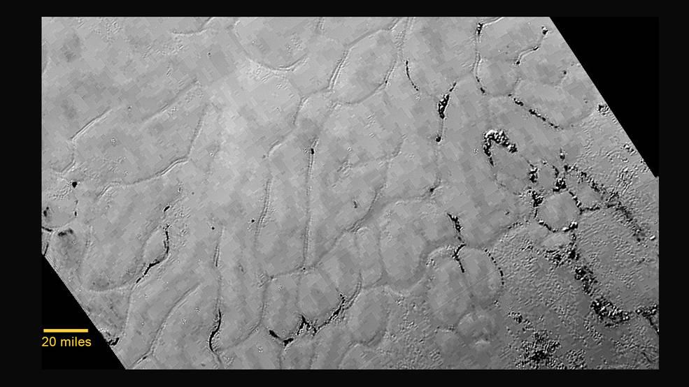 Równiny w sercu Plutona
