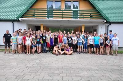 Obóz 2015 - zdjęcie z Januszem Wilandem