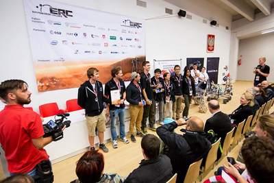Drużyna McGill University z Kanady - III miejsce na European Rover Challenge 2015