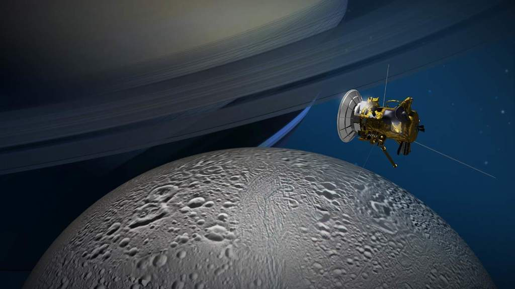 Cassini i Enceladus