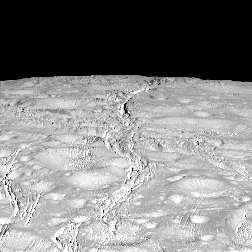 Biegun północny Enceladusa