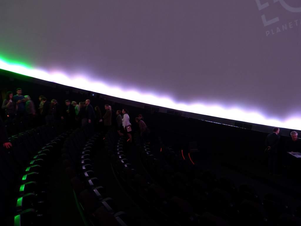 Wnętrze Planetarium EC1 (II)
